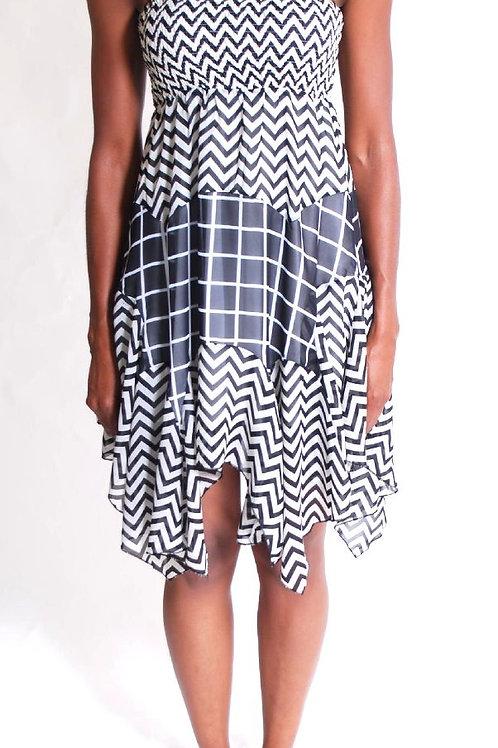 geometric dress lm