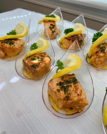 Grilled Salmon Bites