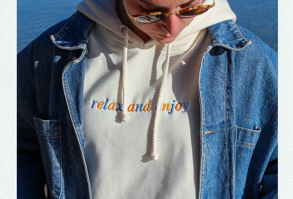 Relax And Enjoy Hoodie
