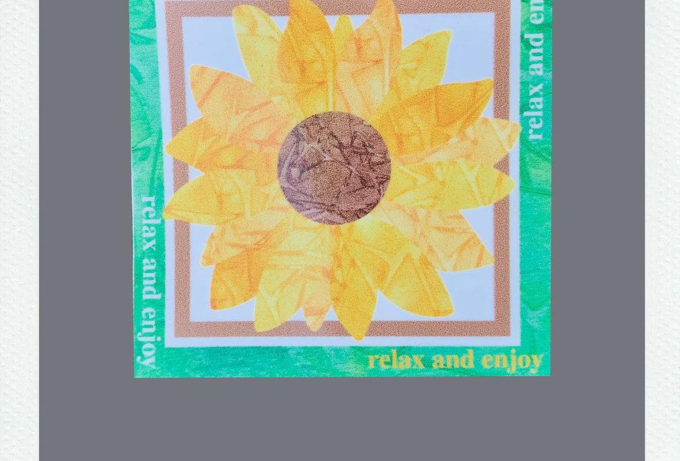 RAE Sunflower Sticker