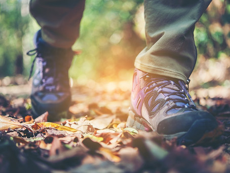 Prevent Knee Pain When Hiking Downhill