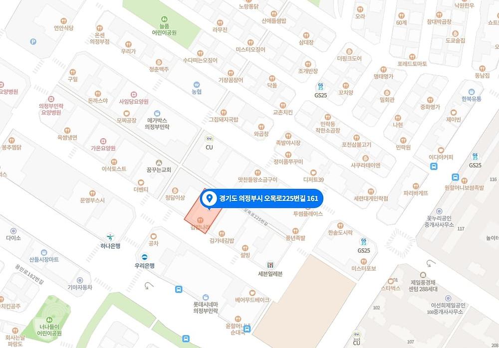 의정부 마사지 구인구직 지도