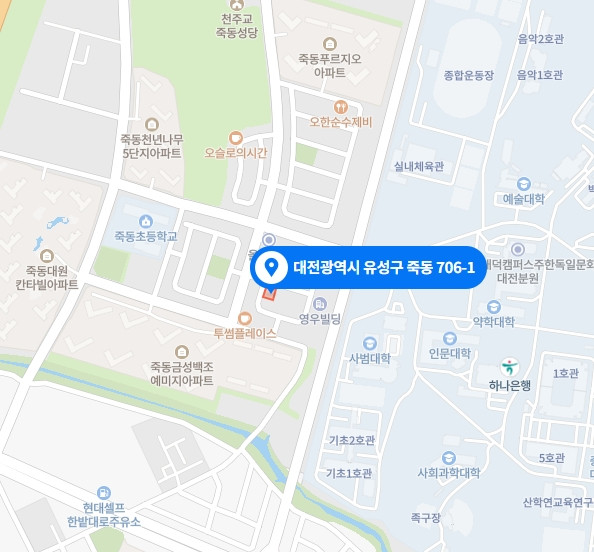 대전 마사지 구인구직 지도