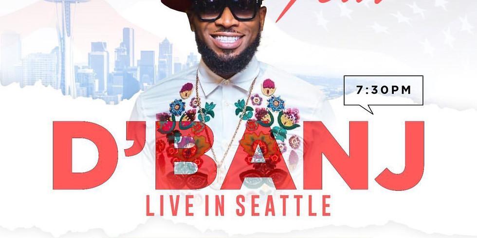 D'Banj Live In Seattle