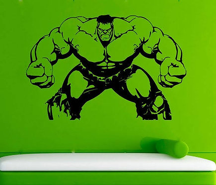 Hulk avangers vinyl decals