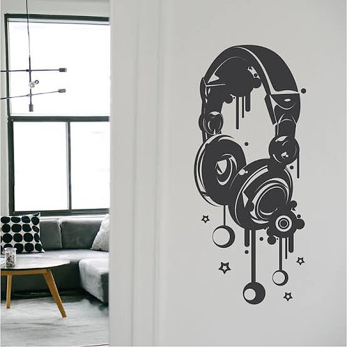 Music sign vinyl decals for music lover