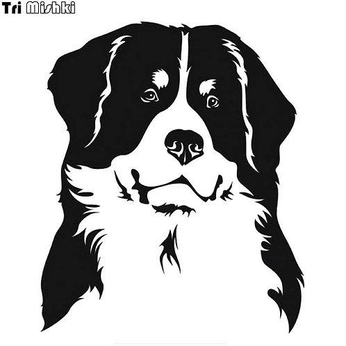 pet dog vinyl decale