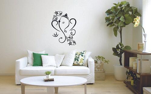 Ganesh vinyl sticker for walls