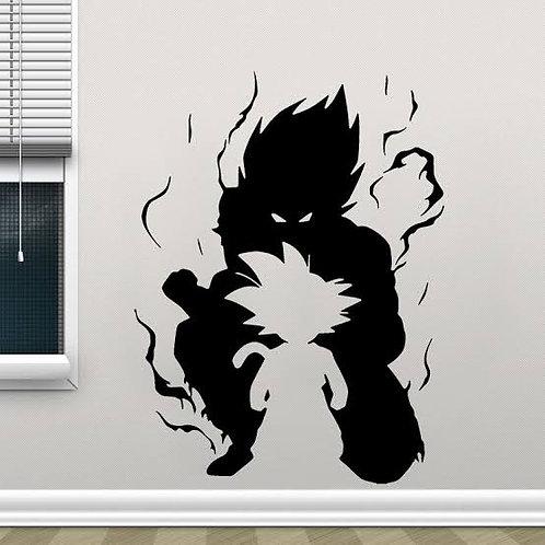 Goku vinyl decals