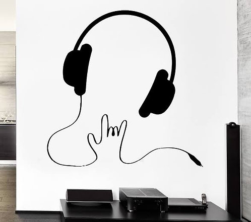 music listening decals