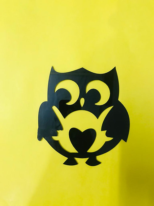 owl wall 3D hanging 24in*24 in