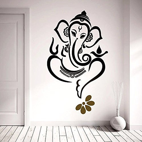 Ganesh ji god vinyl for wall and cars