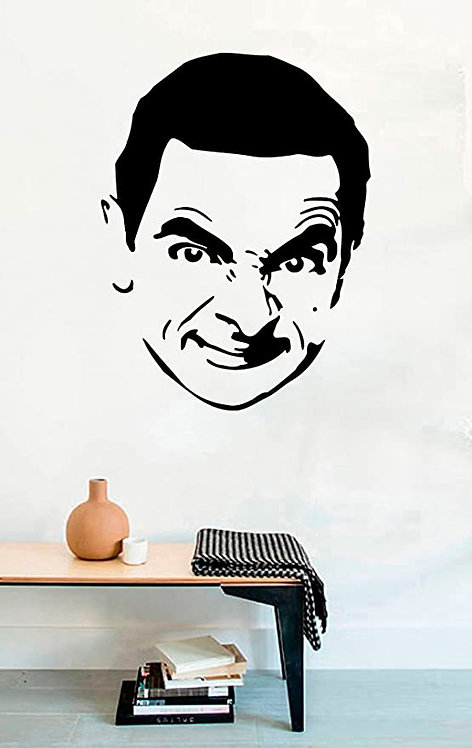 MR bean vinyl decales