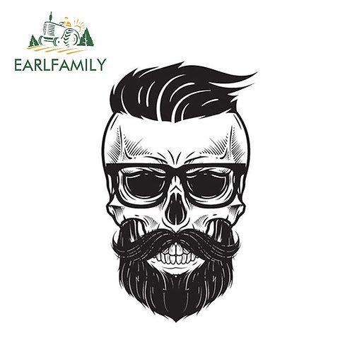 Mr beardo vinyl decals