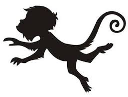 monkey  vinyl decale