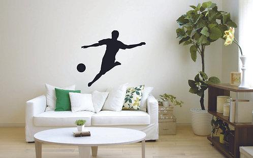 Sportsmen vinyl sticker for sport lover
