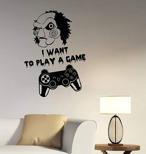 playing game  vinyl decals