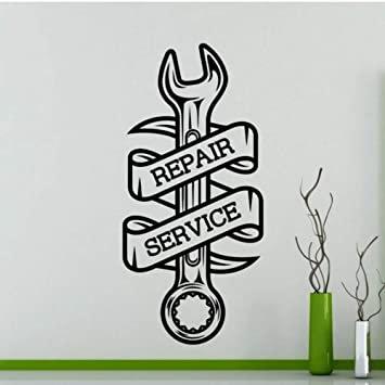 repair and service vinyl decales