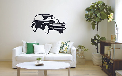ambassador vintage car vinyl stickers