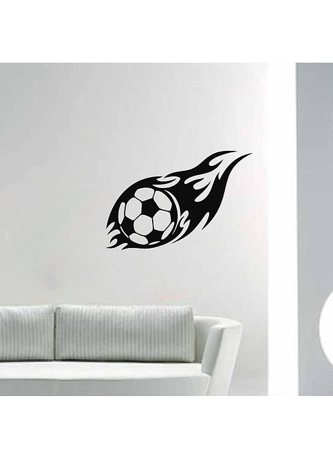 foodball player sports person vinyl decales for rooms