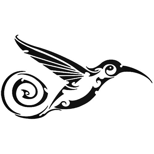 bird vinyl decale