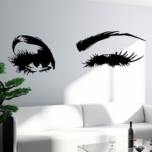 Eyes vinyl decals