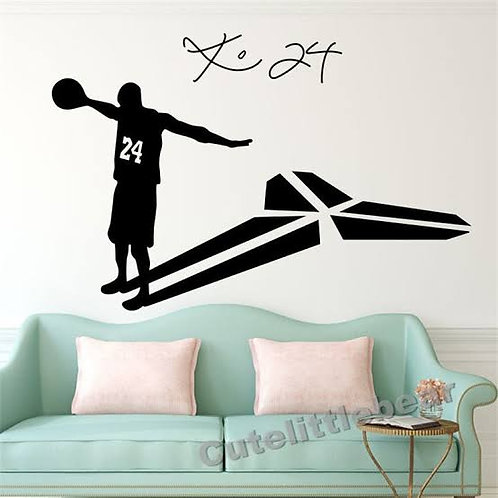 Sportsmen football player vinyl decals