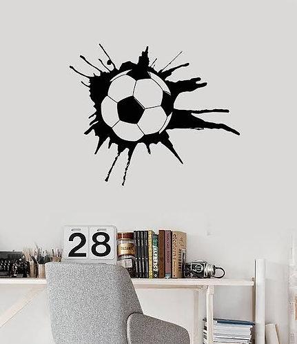 football sportsmen vinyl decals for walls