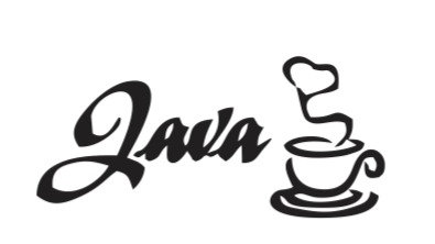 Java coding sticker for laptops and walls