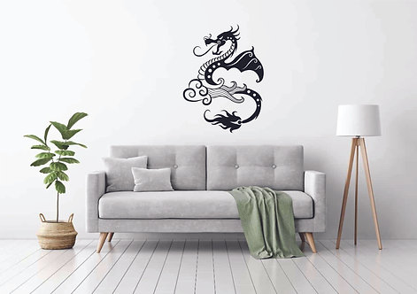Dragon decals for wall