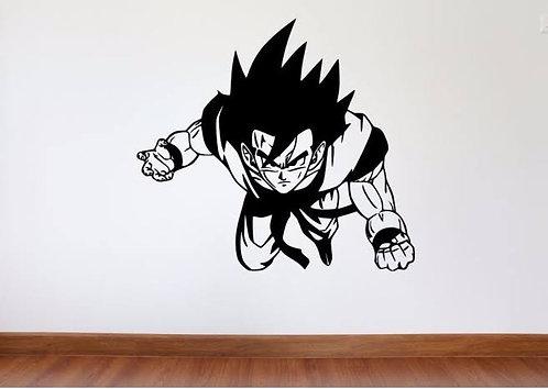 Goku cartoon sticker