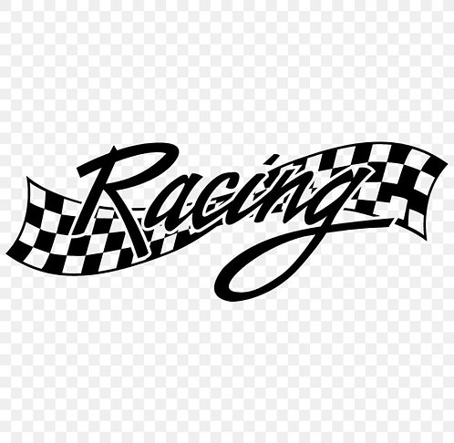 racing sign  , for bike and car vinyl decales
