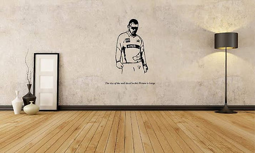 MSD dhoni vinyl decals for walls