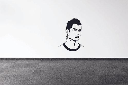 Cristiano Ronaldo CR7  Sports person vinyl decals
