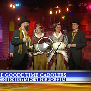Live at News4    GOODE TIME CAROLERS
