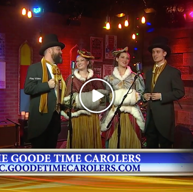Live at News4 || GOODE TIME CAROLERS
