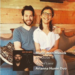 Arianna Hume Duo    MUSIC WITH MUSICK