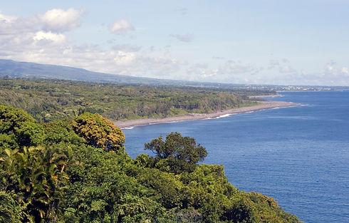 Le littoral est Ile de La Réunion
