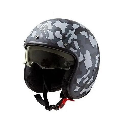 Casco Abierto Moto Hawk 721 Camou Kiev