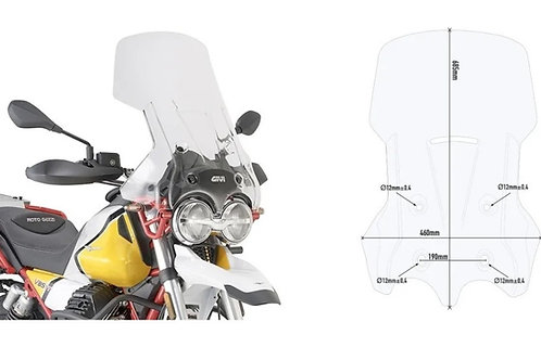 Parabrisas Elevado Moto Guzzi V85 TT - Cuotas