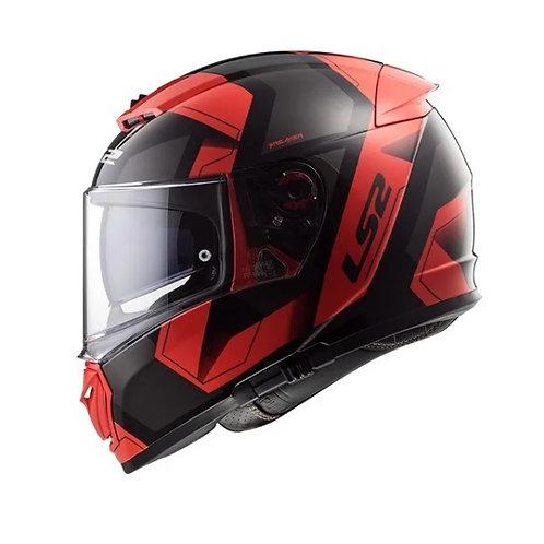 Casco Moto Integral Doble Visor Breaker Ls2 390 Cuotas