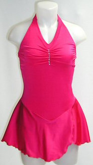 Scrunched Halter Dress