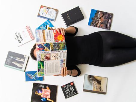 6 Books for Beginner Artists