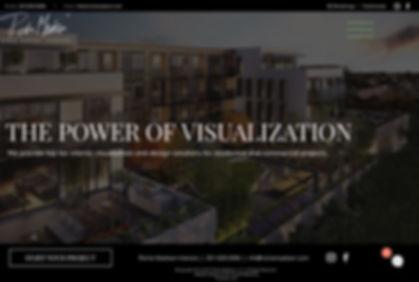 rich house marketing website design mary