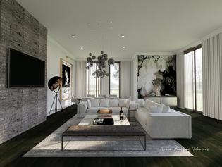 living room rendering interior design ma