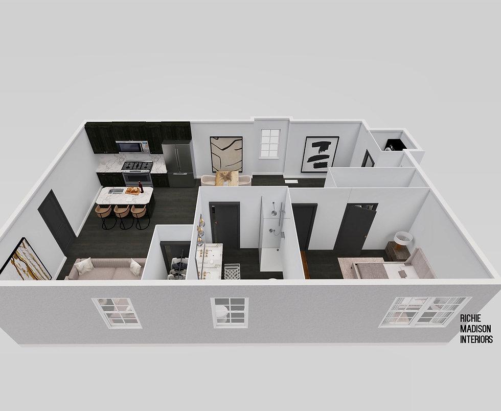richie madison interiors floor plan renderings interior design