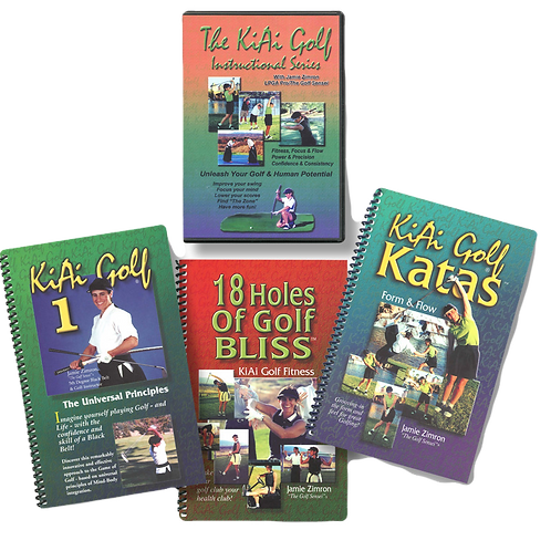 KiAi Golf Instructional DVD Package