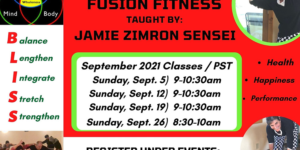 BLISS Fusion Fitness
