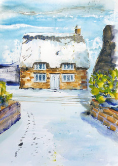 Cinders Cottage - COMMISSIONED - SOLD
