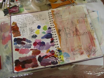 The joys of a sketchbook